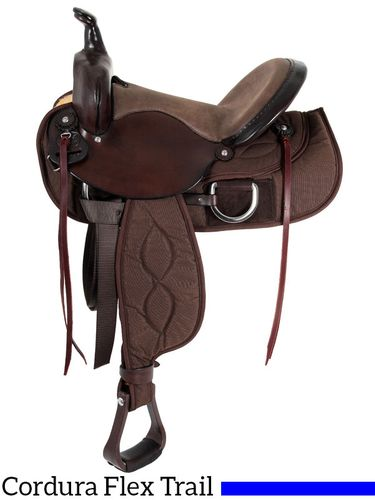 "15"" to 17"" Big Horn Lady Light Weight Flex Trail Saddle 323"