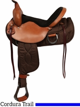 "** SALE **15"" to 17"" Big Horn Lady Light Weight Wide Flex Trail Saddle 325 326 327"