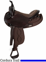 "15"" to 17"" Big Horn Light Weight Haflinger Saddle 286"