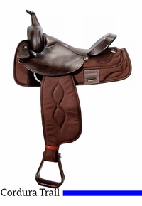 """SALE NEW  ONLY £79.50 Rhinegold Synthetic Saddle 17/"""" Medium Wide Fit Black"""