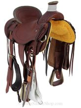 "15"" to 17"" Billy Cook Arbuckle Wade Ranch Saddle 2182"