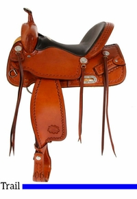 "15"" to 17"" Billy Cook CJ Trail Saddle 1537"