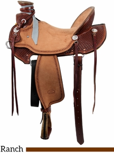 """15"""" to 17"""" Billy Cook Wade Ranch Saddle 2197"""