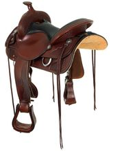 "15"" to 17"" Circle Y Ashton High Country Trail Saddle 2617 w/Free Pad"
