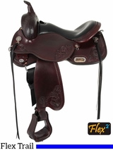 "15"" to 17"" Circle Y Lady Trail Wide Flex2 Saddle 5701"
