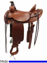 "15"" to 17"" Colorado Saddlery Steamboat Mountain Mule Saddle 100-6335"