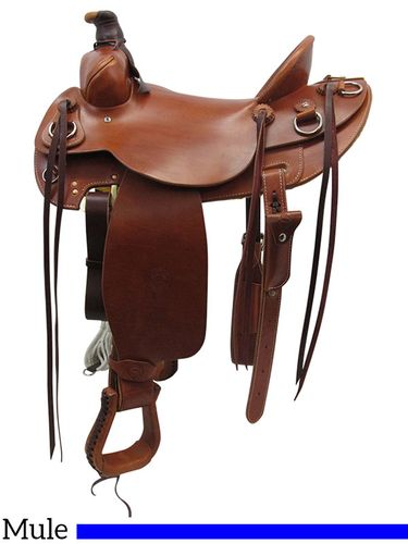 "SOLD OUT 15"" to 17"" Colorado Saddlery Steamboat Mountain Mule Saddle 100-6335"