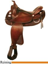 "** SALE **15"" to 16"" Crates Classic Reining Saddle 2222"