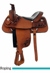 "15"" to 17"" Dakota Penning Roping Saddle 9555"