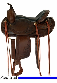 "15"" to 17"" Dakota Western Trail Saddle 2212"
