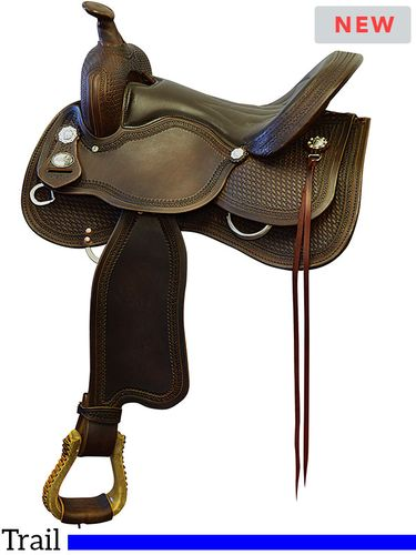 "15"" to 17"" Fabtron Sonoma Supreme Trail Saddle 7974"