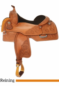 "15"" to 17"" Reinsman Reining Saddle 4763 w/Free Pad"