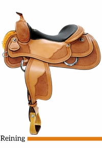 "15"" to 17"" Reinsman Reining Saddle 4764 w/Free Pad"