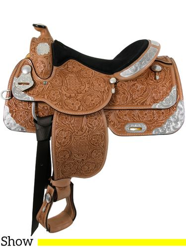 "15"" to 17"" South Bend Saddle Co Equitation Show Saddle 1057"