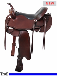 """15"""" to 17"""" South Bend Saddle Co Frontier Lady Trail Saddle 2265"""