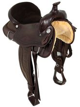 "15"" to 17"" South Bend Saddle Co Lady Cloverdale Trail Saddle 2008"