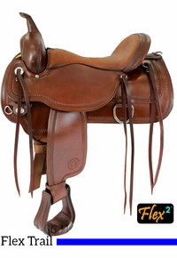 Circle Y Topeka Trail Saddle Flex2 1651 w/Free Pad