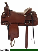 "16"" to 17"" Billy Cook Classic Ranch Cutter Saddle 8960"