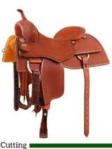 "** SALE **15.5"" to 17"" Martin Saddlery Performance Saddle mr28WS"