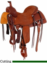 "15"" to 17"" Martin Saddlery Ranch Cutter Saddle mr08MB"