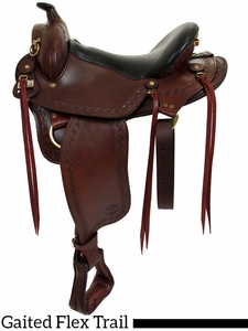 "16"" to 18""  Big Horn Western Flex Gaited Saddle 1684"