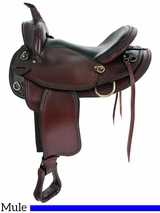 "16"" 17"" Big Horn Texas Best Hill Country Mule Trail II Saddle 940M"