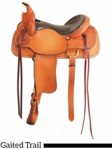 "16"" 17"" Big Horn Texas Best The San Saba Trail Saddle, Gaited 951G"