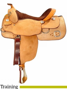 """15.5"""" to 17"""" Billy Cook Training Saddle 9030"""