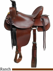 "** SALE **15"" to 17"" Dakota Mule Saddle 800"