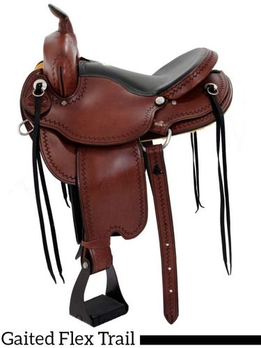 "15"" - 17"" Dakota Gaited Equi-Fit Trail Saddle 211"