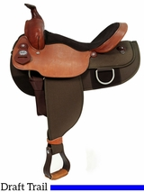 "16"" 17"" Fabtron Draft Horse Saddle 7182 7184"