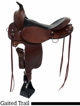 "16"" 17"" Fabtron Gaited Trail Saddle 7764S-7766S"