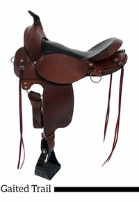 "** SALE **16"" 17"" Fabtron Gaited Trail Saddle 7764S-7766S"