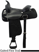 "16"" 17"" Big Horn Ralide Flex Tree Gaited Saddle 303 304"