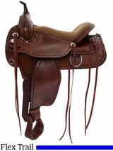 "17"" Tex Tan Montrose Flex Trail Saddle 292TF518PN"