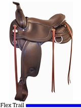 "17"" Tex Tan Franklin Flex Trail Saddle 292TF515"