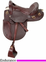 "16.5"" to 17.5"" Royal King Classic Distance Rider Saddle 9520"