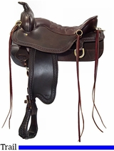 Tucker Cheyenne Frontier Trail Saddle 167 Discontinued