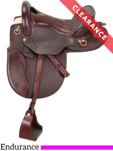"16.5"" Royal King Classic Distance Rider Saddle 9520, CLEARANCE"