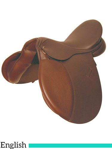 "16.5"" to 17.5"" Kincade Leather All Purpose Saddle 661768"