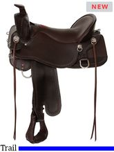 Tucker Big Bend Trail Saddle T93 w/Free Pad