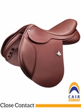 "16.5"" to 18"" Bates Caprilli Close Contact Saddle 009"