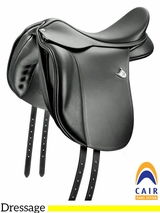 "16.5"" to 18"" Bates Wide Dressage Saddle 017"