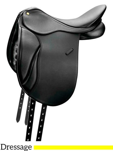 "16.5"" to 18"" Collegiate Classic Dressage Saddle 663706"