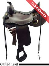 "16.5"" Tucker Brown Mountain Gaited Saddle 261, CLEARANCE"