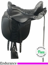 "SOLD 18/07/31 16.5"" Used Tucker Equitation Endurance Medium Saddle 149 ustk4092 *Free Shipping"