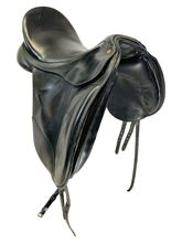16.5Inch Used Bates Isabell Dressage Saddle Isabell  *Free Shipping*