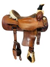 16.5Inch Used Billy Cook Roping Saddle 9111 *Free Shipping*