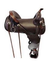 PRICE REDUCED! 16.5Inch Used Circle Y Basin Treeless Trail Saddle 1301 *Free Shipping*
