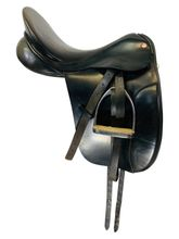 16.5Inch Used Kings Saddlery Dressage Saddle Custom *Free Shipping*